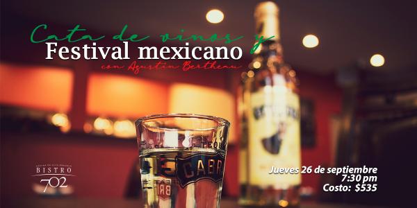 Vinos y Festival Mexicano