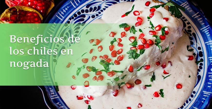 Beneficios del chile en nogada